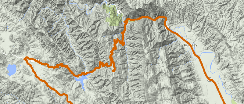 Putah Creek to Berryessa