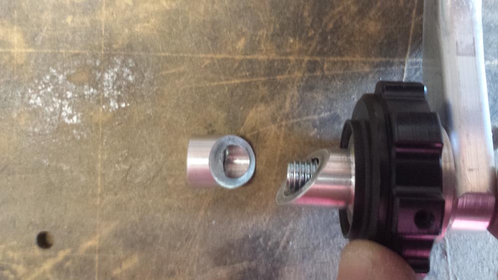 Not enough bolt length for a kaoko