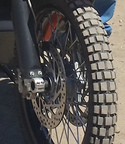 My Cupped Front Tire