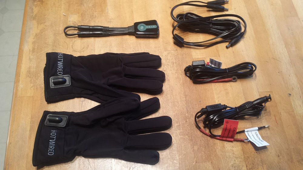 HotWired Gloves and Cables