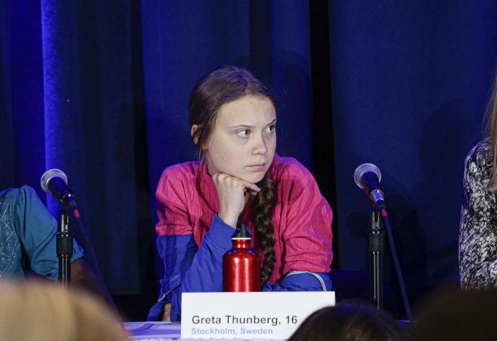 activista greta thumberg en la onu