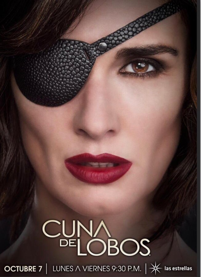 paz vega se transforma en catalina creel