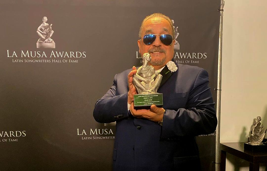 Willie Colón Salón de la Fama de los Compositores Latinos 2019