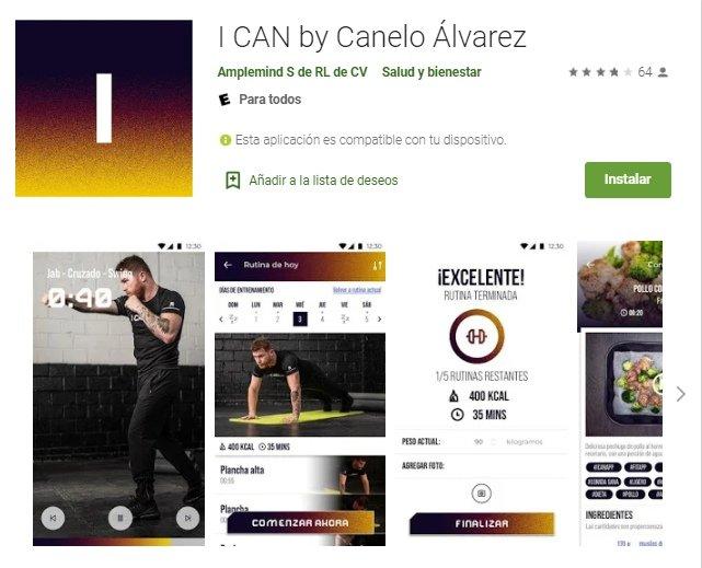 app para celulares del canelo alvarez   como descargar la aplicacion del canelo alvarez