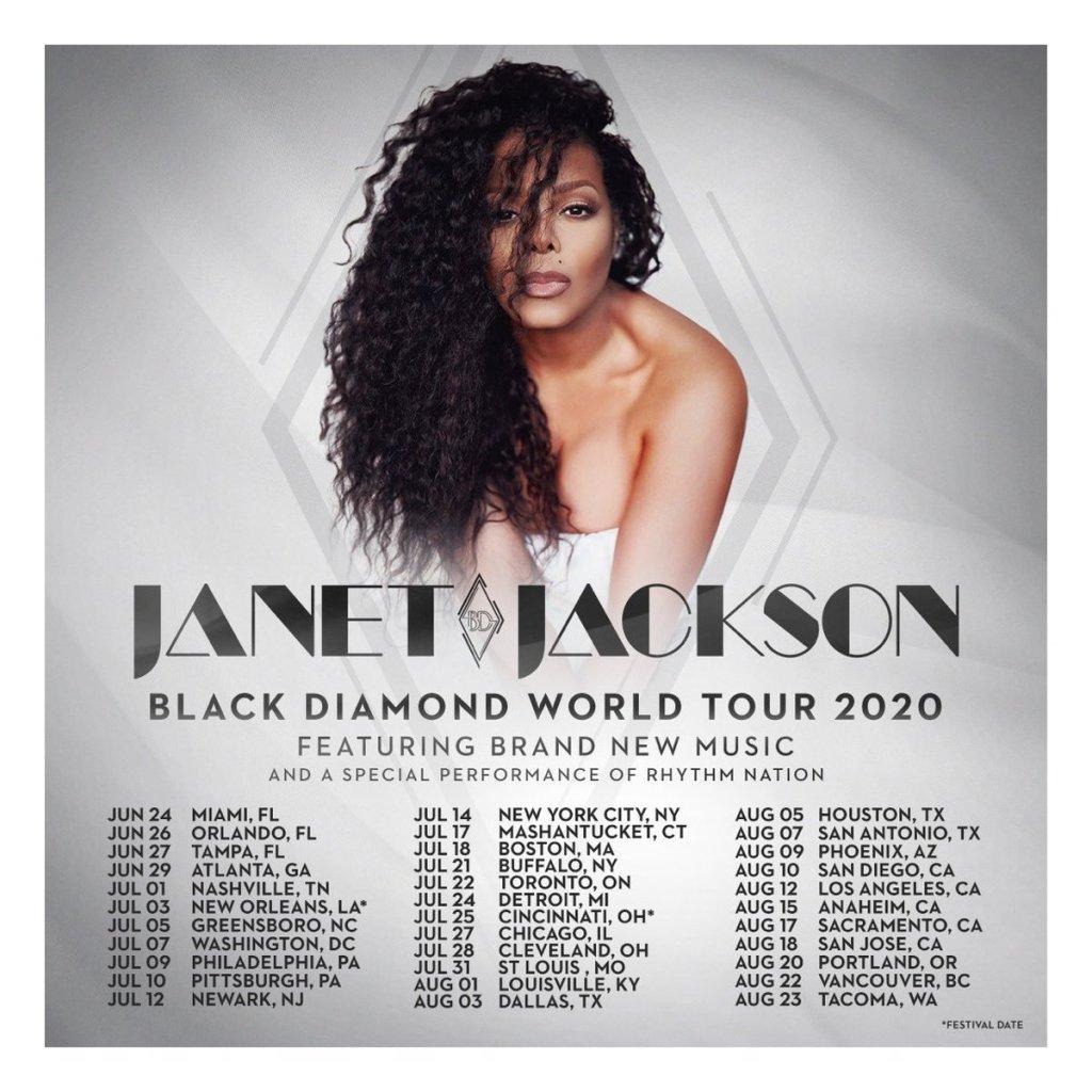 Ticket conciertos de Janet Jackson en Estados Unidos