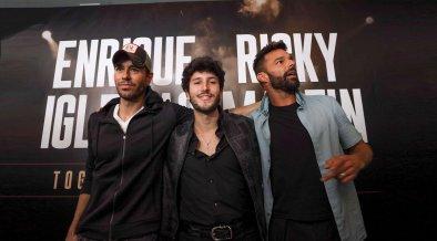 fechas y ciudades gira Ricky Martin y Enrque Iglesias