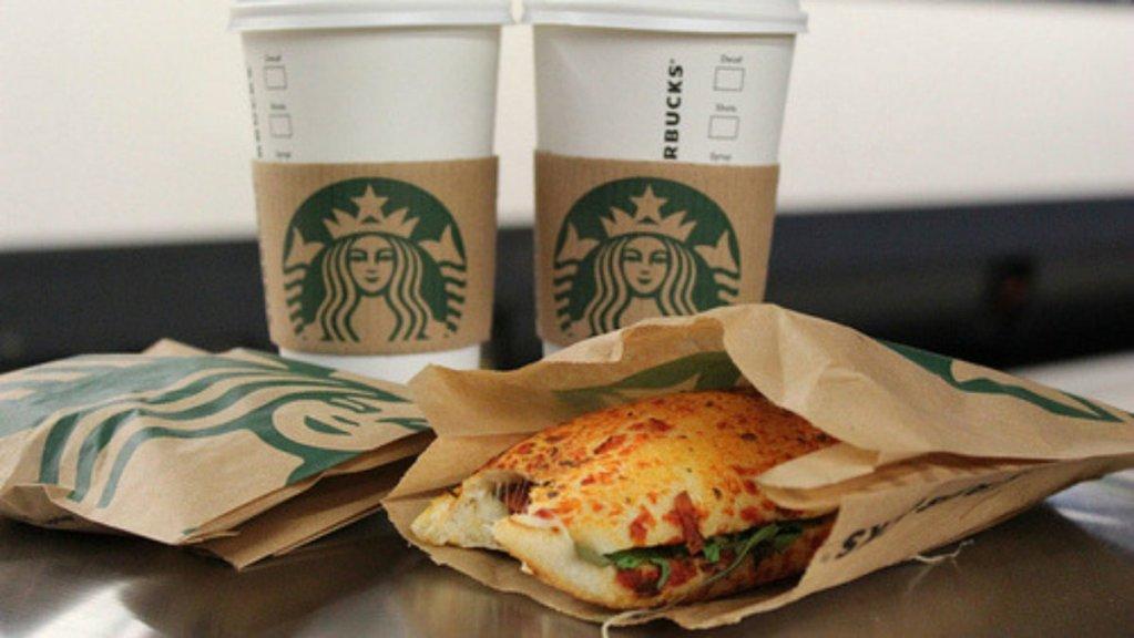 Sandwich de carne falsa Starbucks