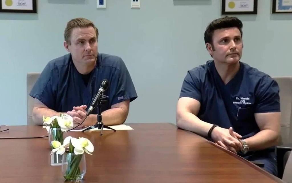 El dr. Erickson habló del covid-19 en un video que fue bloqueado por Youtube