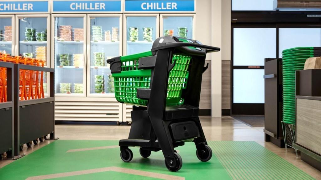 Amazon Dash Carts amazon carrito de compras inteligente