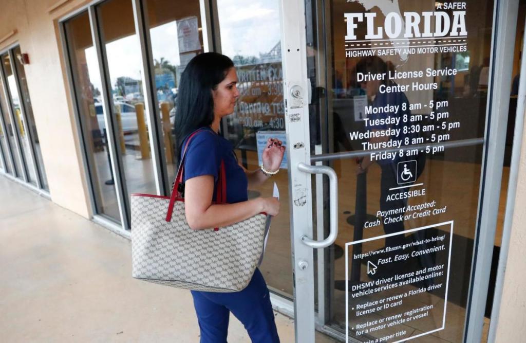 licencia de conducir en Florida indocumentado