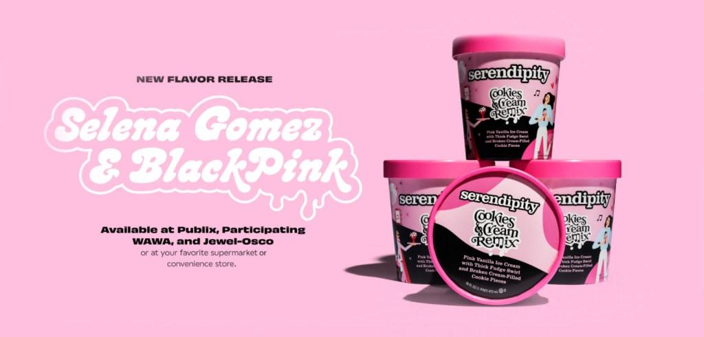 helado Selena Gomez