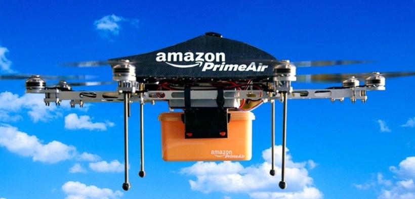 Amazon entrega con drones