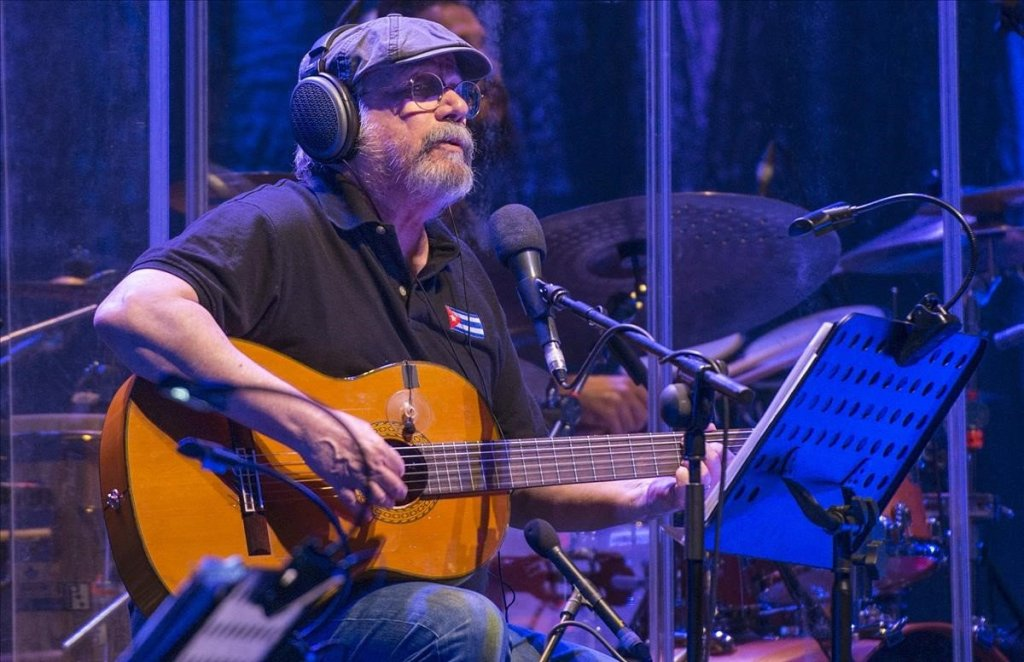 Cantautor Cubano Silvio Rodríguez