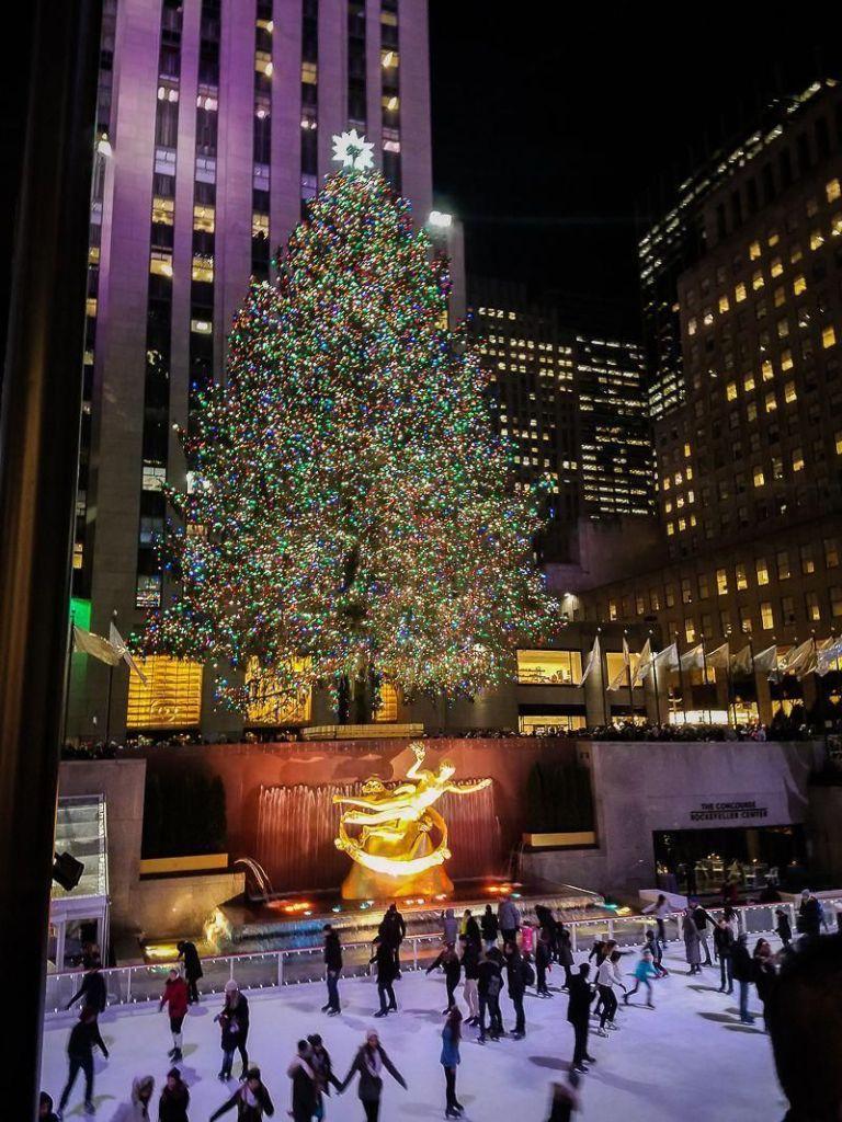 árbol de navidad rockefeller center 2020