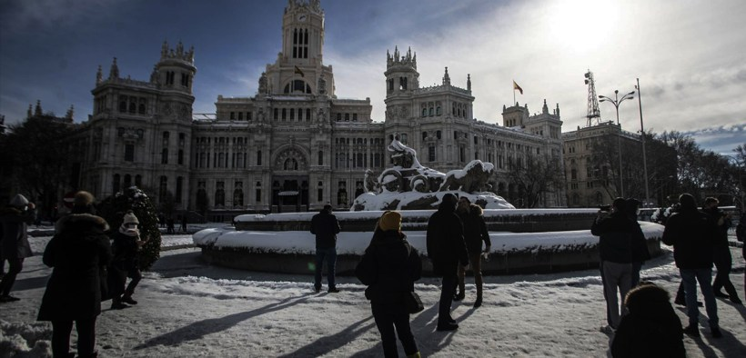 Madrid borrasca Filomena