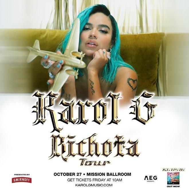 fechas tour tickets bichota karol g estados unidos