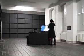 """Ausstellungsansicht: 2. OG """"Entleerte Gefühle"""" © Foto von Anna-Maria Weber 2014"""