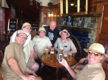 Join the Beer Appreciation Group in a cosy pub
