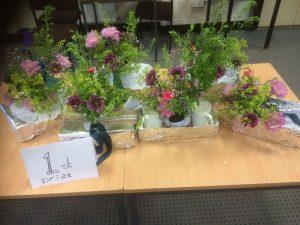Winner of 'Flowers are Fun' - Pauline Rigby & Team