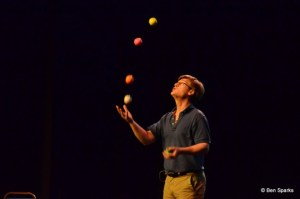 Colin Wright, juggler and mathematician