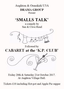 Enjoy a night out at Aughton Village Hall with the Drama Group.