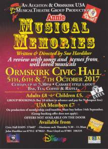 Enjoy a night at the @civvie' with the Musical Thatre Group
