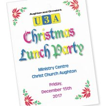 Christmas party programme