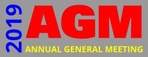AGM 2019 @ Christ Church Ministry Centre