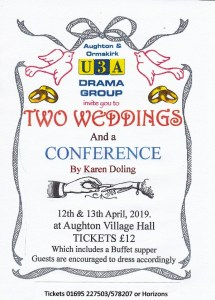 Drama Group presents: Two Weddings and a Conference @ Aughton Village Hall