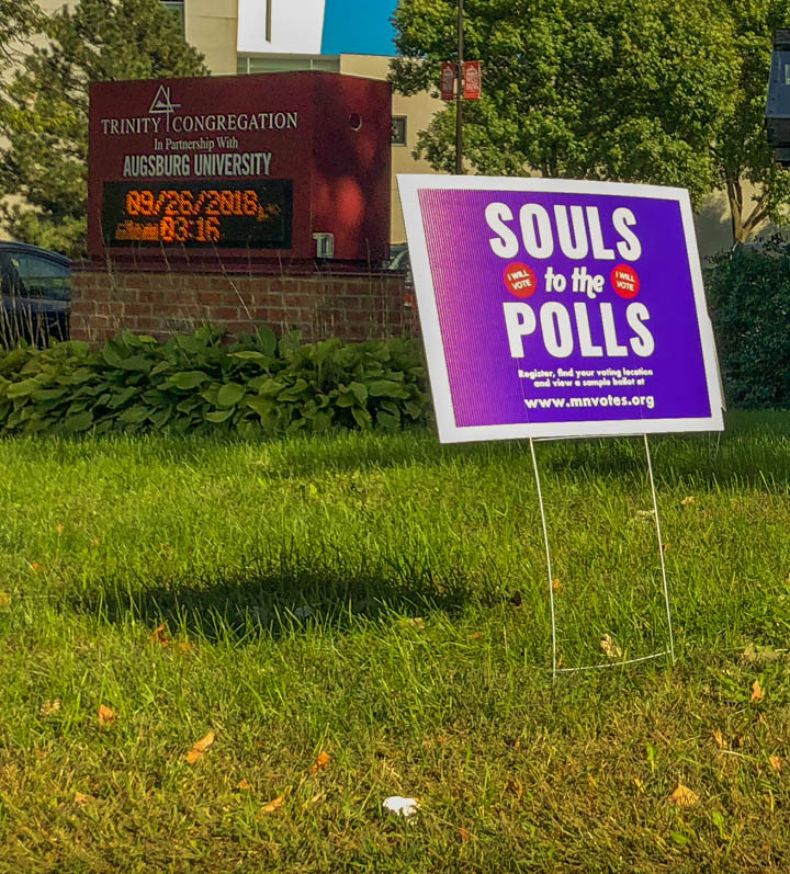 Souls to the Polls encourages students to vote