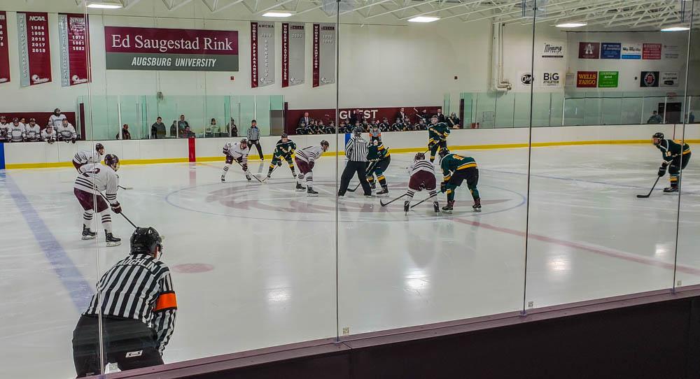 Men's hockey drops first MIAC game of the season