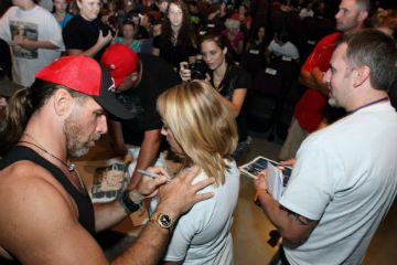 Dream come true top rope has successful shawn michaels experience more than 300 fans took part in the shawn michaels experience a meet and greet and fan qa featuring wwe hall of famer shawn michaels m4hsunfo Image collections