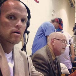chris wrestling announcer