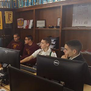Fishburne Military School CyberPatriot team