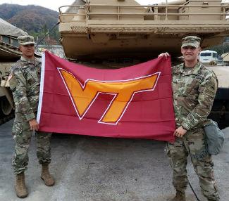Virginia Tech Marshall Hokie Hero