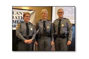 Virginia State Police award