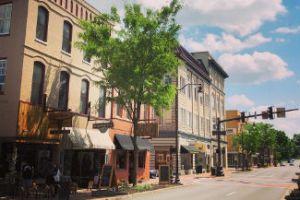 Downtown Harrisonburg