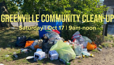 Greenville Community Litter Clean-up Day