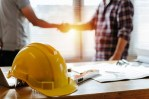 construction hard hat business