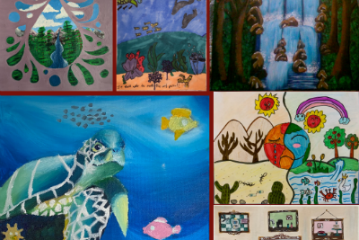 2020 Imagine a Day without Water Art Contest Winners