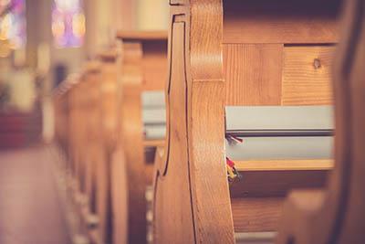 church seating