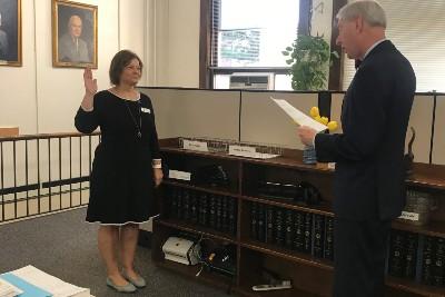 Gina Coffey Chief Deputy Clerk Oath