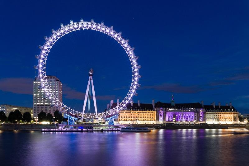 倫敦旅遊必去景點–倫敦眼Coca-Cola London Eye