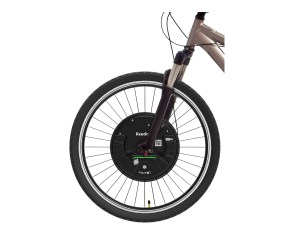 Wireless Electric Bike Front Wheel Conversion Kit