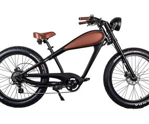 750W Bafang Vintage Electric Bike Fat Tire