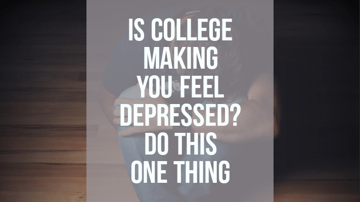is college making you feel depressed