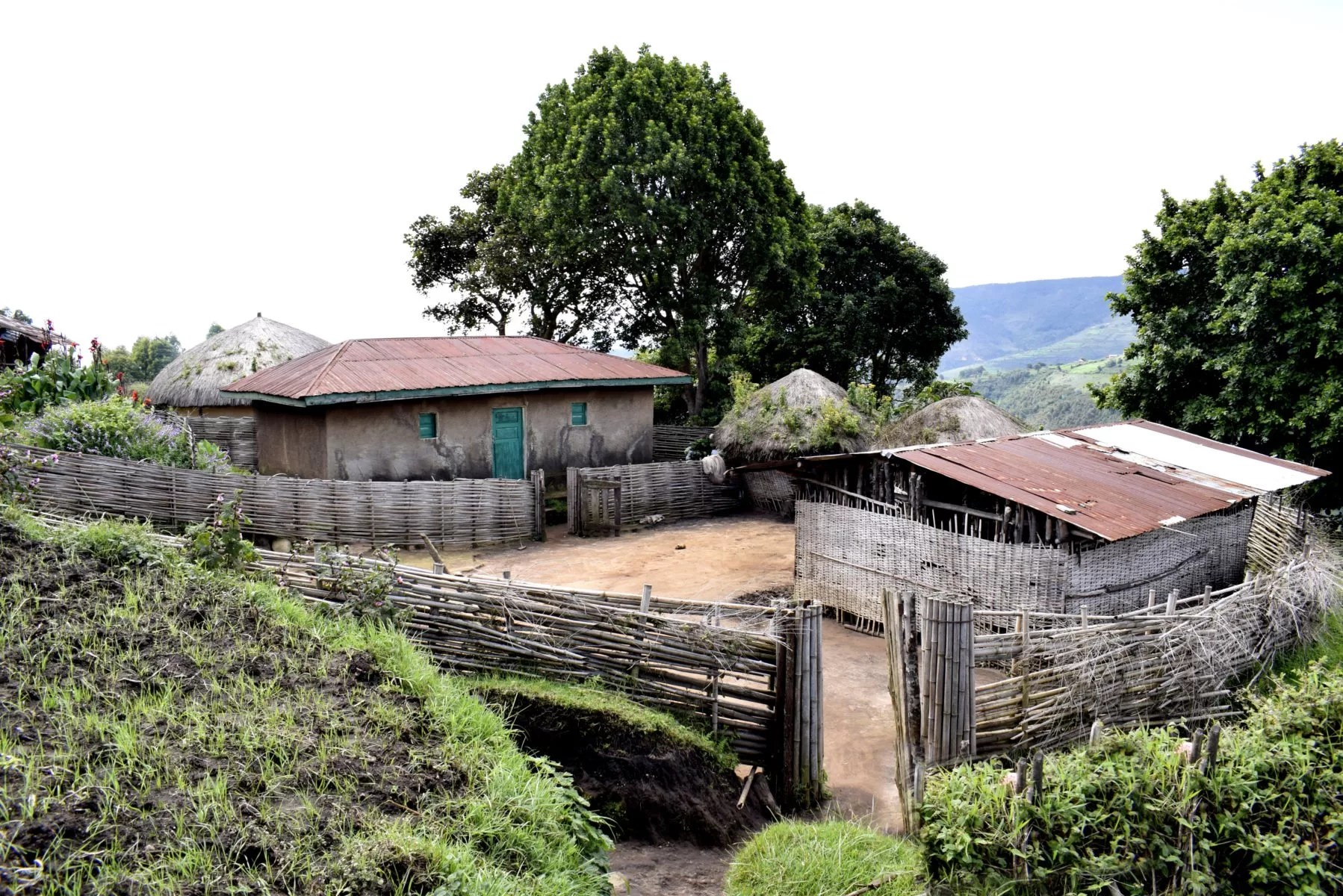 Burundi Traditional Housing