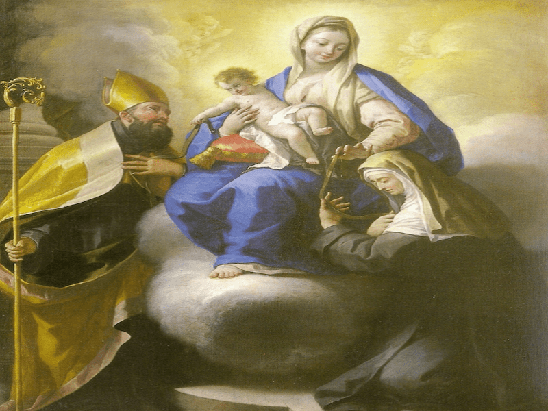The Corona of Our Lady of Consolation