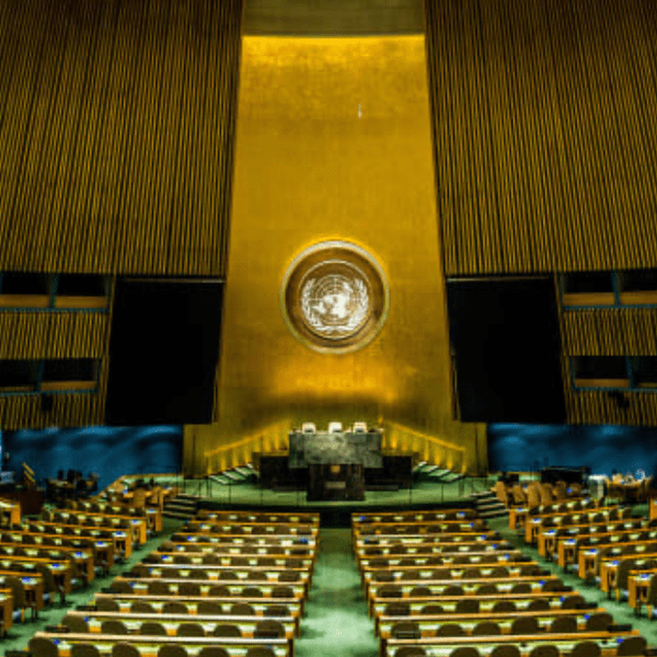 Why are Catholics involved with the United Nations?