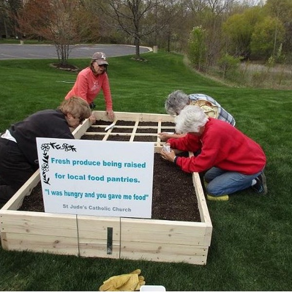 St. Jude Parish Establishes Garden to Feed the Hungry